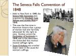the seneca falls convention of 1848