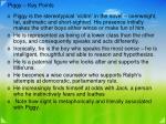 piggy key points