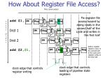 how about register file access