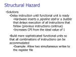 structural hazard1