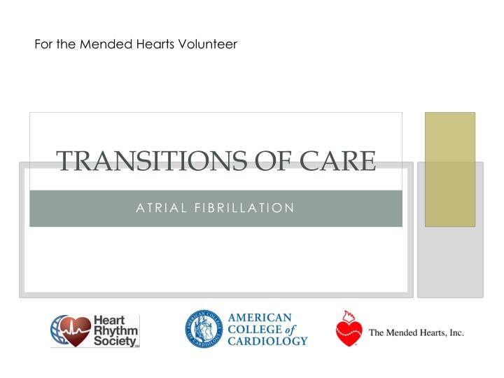 transitions of care n.