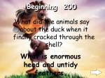 beginning 200