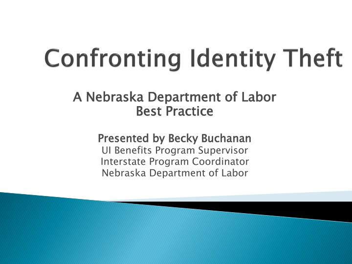 confronting identity theft n.