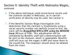 section ii identity theft with nebraska wages continued3