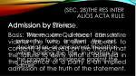sec 28 the res inter alios acta rule9