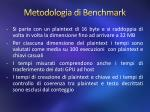 metodologia di benchmark