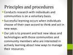 principles and procedures1