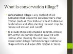what is conservation tillage