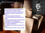 brief history of bliss carman