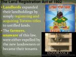the land registration act of 1902
