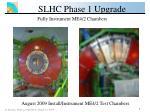 slhc phase 1 upgrade