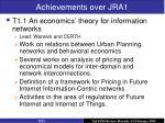 achievements over jra1