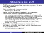 achievements over jra12