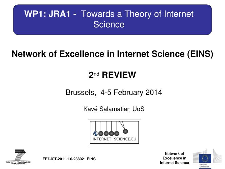 wp1 jra1 towards a theory of internet science n.