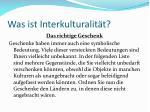 was ist interkulturalit t