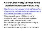 nature conservancy s broken kettle grassland northwest of sioux city