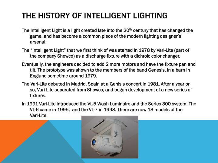 a history of theatrical illumination Tableofcontents page thebirthofdecorativelighting 9 theneedforartificialstagehghting 11 candleslightthefirstenclosedtheatre 13 theoriginofcoloredstagelighting 15.
