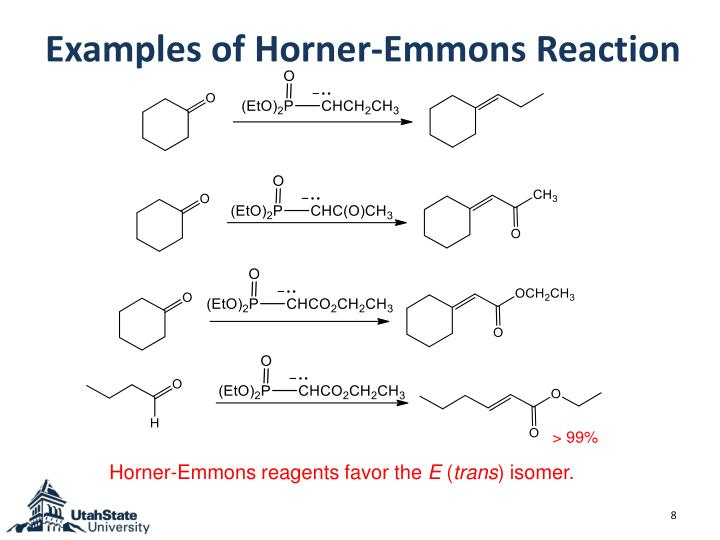Examples of Horner-Emmons Reaction