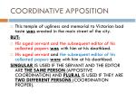 coordinative apposition1