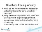 questions facing industry2