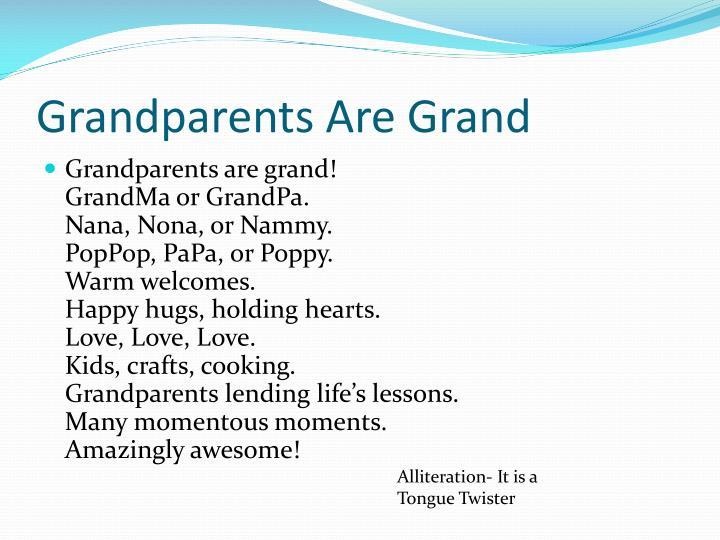 Grandparents Are Grand