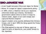 sino japanese war