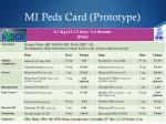 mi peds card prototype1