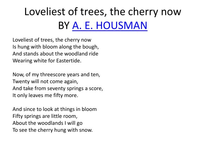 a e housman short esysa Review on playing cards of world war ii he has published 13 novels and numerous amounts of short ae housman - short esysa stem cell.