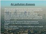 air pollution diseases
