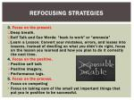 refocusing strategies1
