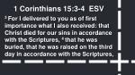1 corinthians 15 3 4 esv