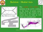 skeleton medial axis