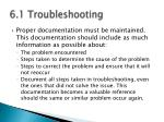 6 1 troubleshooting