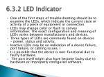 6 3 2 led indicator