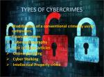 types of cybercrimes