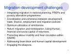 migration development challenges