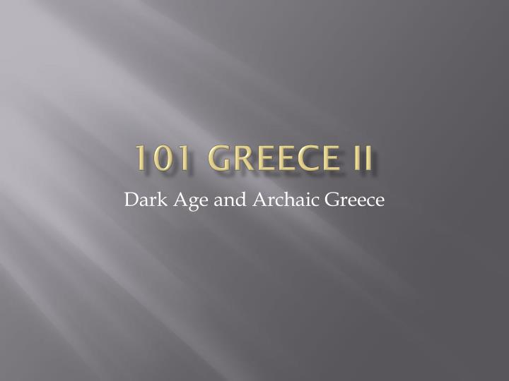 101 greece ii n.