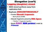 elongation con t1
