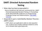 dart directed automated random testing