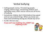verbal bullying1