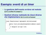 esempio eventi di un timer1