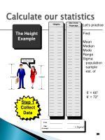 calculate our statistics