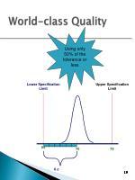 world class quality