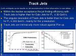 track jets