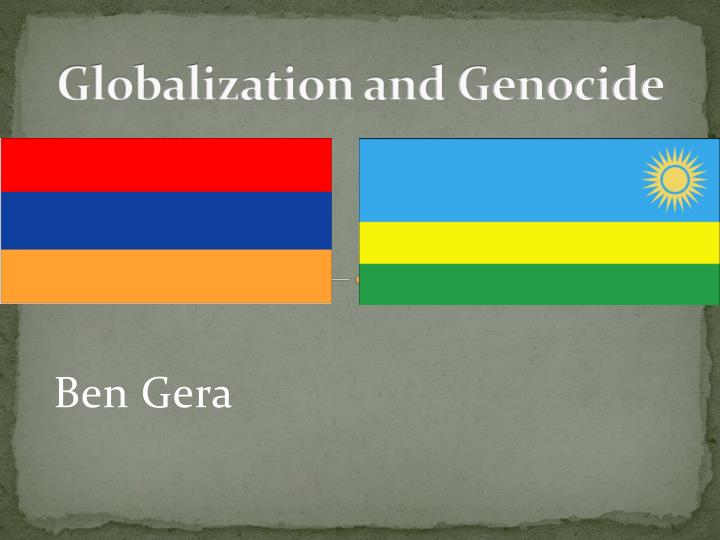 globalization and genocide n.