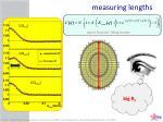 measuring lengths