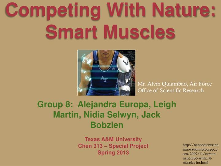 competing with nature smart muscles n.