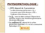 physiopathologie1