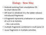 dialogs new way