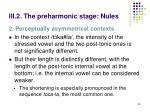 iii 2 the preharmonic stage nules8